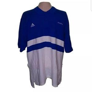 Chicago Cubs Adidas Polo Shirt Short Sleeve Bin11